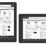 Asus DR-950, 9 pollici ebook reader