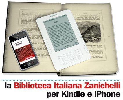 Ebook in italiano su Amazon grazie a Zanichelli