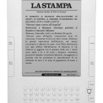 La Stampa sul Kindle DX di Amazon