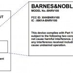 Il Nook Lite alla FCC americana