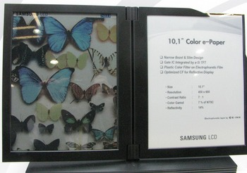 Samsung color e-paper da 10 pollici