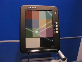 Schermo della E-Ink a colori
