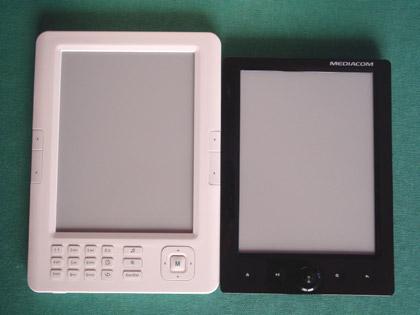 Nilox Cosmo PocketBook 2.0 a confronto con un Mediacom JerryBook