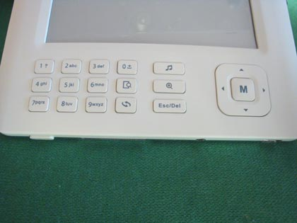 Tastiera del Nilox Cosmo PocketBook 2.0