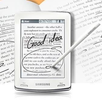La pagina ufficiale del Samsung E60