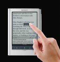 I nuovi ebook reader di Sony in Italia a ottobre