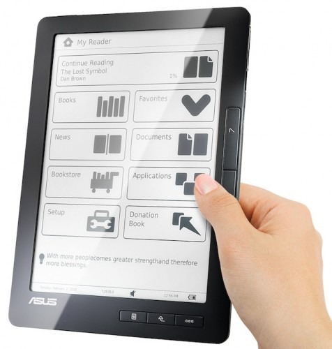 Asus DR-900 ebook reader - 9 pollici