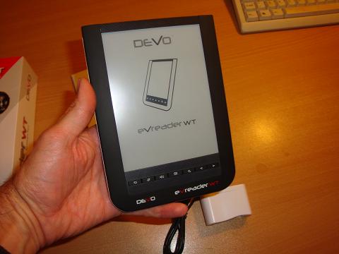 Unboxing del DeVo eVreader WT