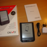 Devo eVreader WT unboxing, dispositivo e accessori
