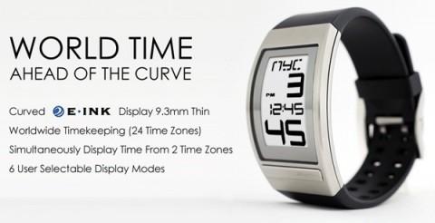 Da Phosphor un orologio con schermo E-Ink
