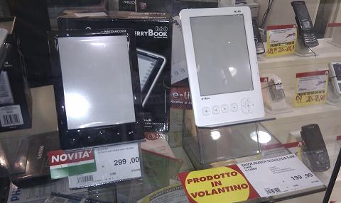 Prezzi Mediacom JerryBook E60 e Kiwie e-libro