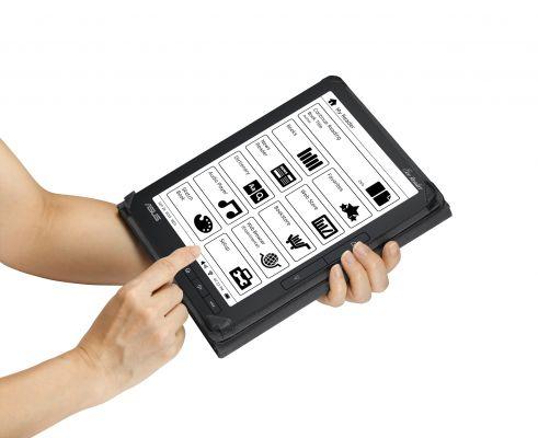 Pronto l'Eee Reader DR900 di Asus, 9 pollici touchscreen. Prezzo 319 euro.