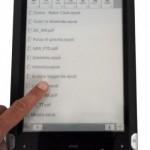 MyTile di Onda Communication, l'e-reader con schermo grande