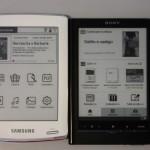 Samsung E60 e Sony PRS650, le dimensioni si equivalgono