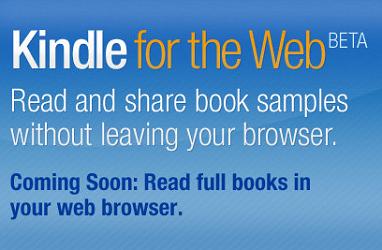 Amazon porta l'ebook sul browser