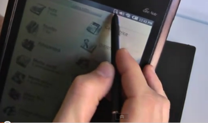 Asus Eee Note 800 in (3) video