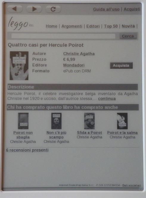 LeggoIBS - acquisto di un ebook