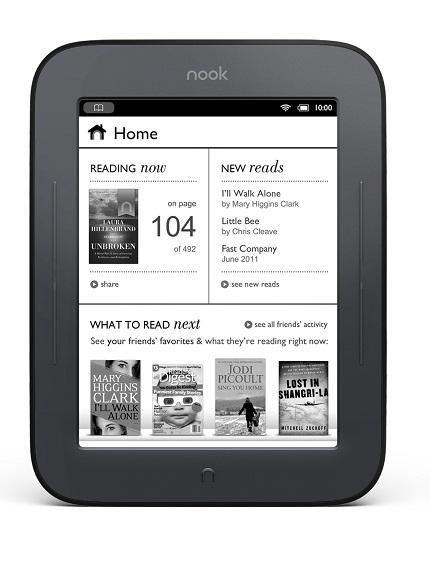 Presentato il Nook 2, con E-INK Pearl touchscreen