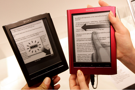 I nuovi ebook reader Sony presto fra noi