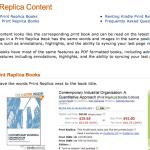 Kindle Print Replica, ulteriore segno della fine del grigio
