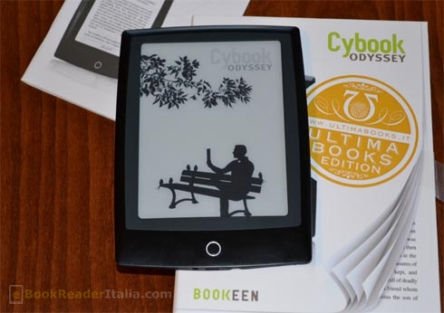 Bookeen Cybook Odyssey: prime impressioni