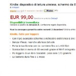 Amazon.it: Kindle 4 è arrivato in Italia