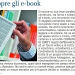 """""""Torino scopre gli e-book"""", l'articolo su LaStampa.it dedicato alle serate torinesi con una nostra breve intervista"""