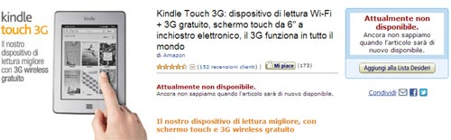 Amazon: illuminanti novità