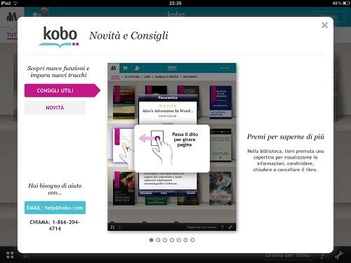 L'applicazione Kobo per iPad è ora in Italiano