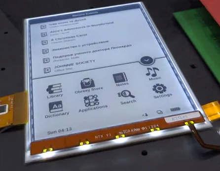 PocketBook, ereader illuminato secondo la nuova tendenza