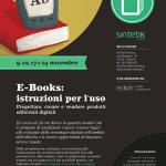 A Verona 4 incontri per il corso: Ebooks, istruzioni per l'uso
