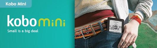 Kobo Mini è il più piccolo dei lettori ebook di Mondadori