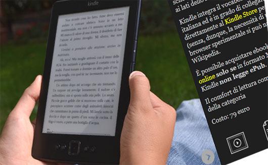La Gallery degli ebook reader