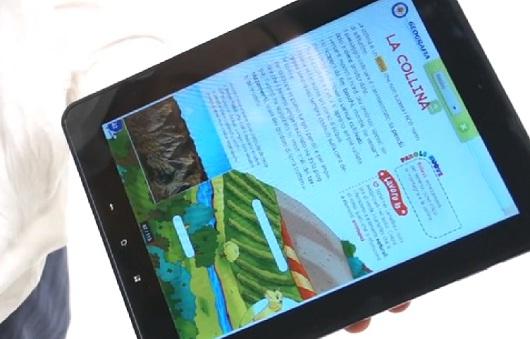 EdiTouch è in grado di leggere a viva voce i libri digitali scolastici in formato Pdf (si possono ottenere gratuitamente su LibroAid.it)