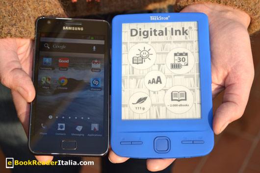Le dimensioni del Pyrus Mini sono equiparabili a quelle di uno smartphone Samsung S2
