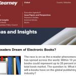 Andamento ebook secondo la ricerca A.T. Kearney / Bookrepublic [IfBookThen 19/03/2013]