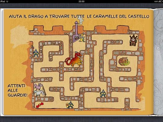 I bambini si possono divertire con dei giochi contenuti nell'ebook
