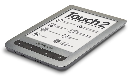 PocketBook Touch 2 - touchscreen con schermo illuminato