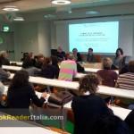 Un momento del seminario AIB-Piemonte (Associazione Italiana Biblioteche) dedicato al prestito ebook in biblioteca (Torino, 5 aprile 2013).