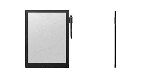 Il prototipo Sony con schermo da 13 pollici E-Ink Mobius