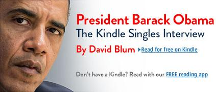 Dopo Twitter, Obama va online con Kindle