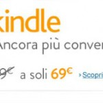 Lo sconto Amazon di 10 euro su Kindle
