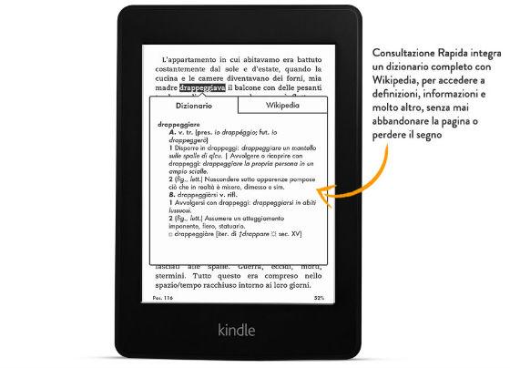Kindle PaperWhite - consultazione rapida