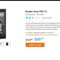 Gli ereader Sony PRS lasciano il mercato Usa