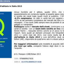 I dati sul mercato del libro e dell'ebook in Italia