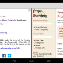 EPUB3Reader: un'app Android per leggere ebook EPUB 3.0 complessi