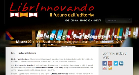 Librinnovando Awards 2013