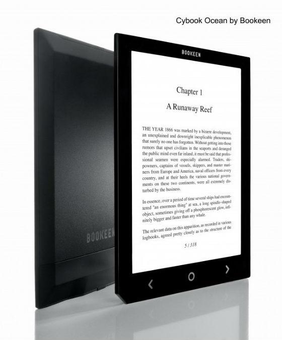 Dalle foto pubblicate sul blog di Bookeen il Cybook Ocean sembrerebbe avere lo schermo illuminato