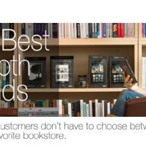 Kindle anche in libreria con il lancio di Amazon Source