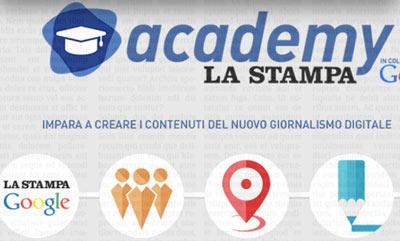 La Stampa Academy è il laboratorio di multimedia giornalistico per giovani al di sotto dei 35 anni.